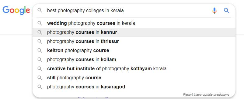 best-photography-colleges-in-kerala