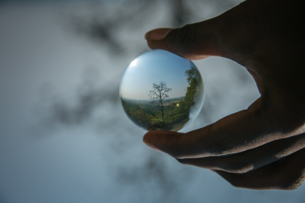 beautiful lensball photography ajaykumar