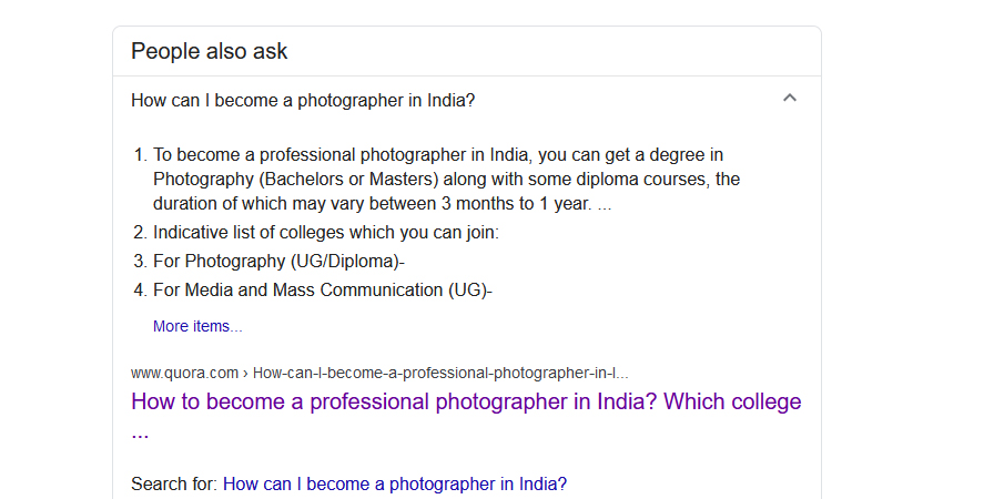 How to become a photographer after 12th?