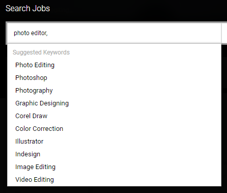 photo editing jobs